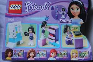 LEGO-FRIENDS 3936: Emma's Fashion Design Studio West Pennant Hills The Hills District Preview