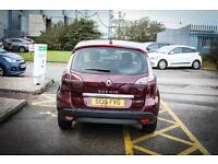 2015 15 RENAULT SCENIC 1.5 dCi Dynamique Nav 5dr in Red