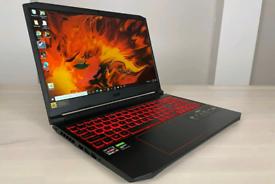 Acer nitro gaming laptop like new