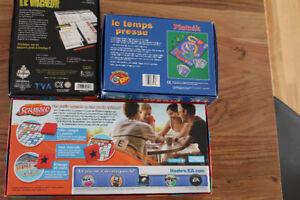 Jeux Société, Scrabble, le tricheur et le temps presse.
