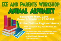 ***ECE and Parents Workshop - 2 session in one day!!!***