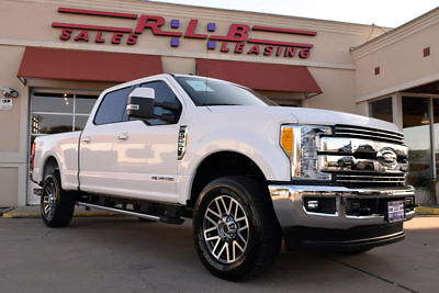 2017 Ford F250 Crew Cab Lariat 4x4, Diesel, Leather,. Navigation, More!