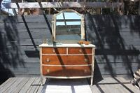 Bow Front Dresser