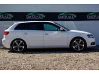 2012 62 AUDI A3 2.0 SPORTBACK TDI S LINE SPECIAL EDITION 5D 138 BHP DIESEL
