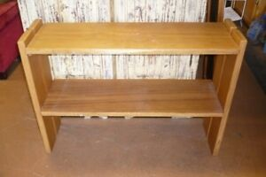 Book shelf and shelving options, see photo's