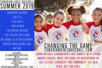 Come Play Girls Baseball, Ages 4-16!