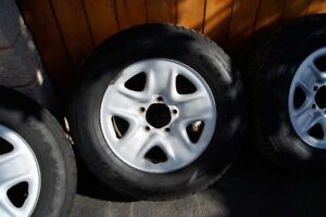 Toyota Tundra Wheels, Tires, Sensors, Lug Nuts and Caps