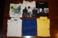 Men`s Tees and Polos, Brand new