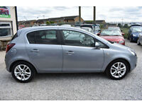 Vauxhall Corsa 1.2i 16v SXi 5 DOOR SILVER 2009 MODEL +BEAUTIFUL THROUGHOUT+