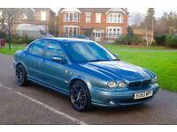 2004 jaguar xtype automatic sports 4wd jaguar x type , 1 year mot , 133000 mileage , perfect