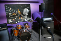 Hourly, Daily and Monthly Band Rehearsal Rooms