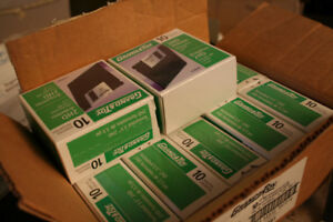 """New Old Stock Grand & Toy 3.5"""" Floppy Disks"""