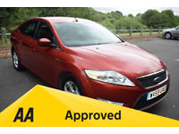 Ford Mondeo 2.2TDCI ZETEC 175PS- 6 MONTH WARRANTY (red) 2009
