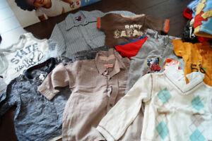 lot de vêtements 12 mois : 109 morceaux