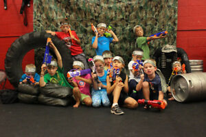 NERF Wars Birthday Parties - Coolest Party Ever
