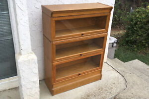 Barrrister's Stacking Bookcase