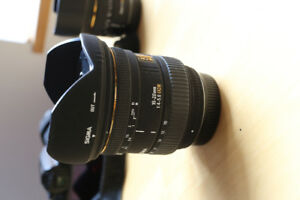Pentax K-Mount lenses (24-70mm 2.8, 10-20mm 4-5.6)