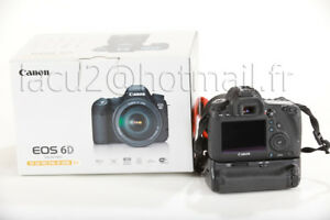 Canon 6D et battery grip garantie
