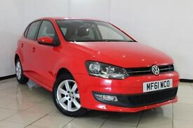 2012 61 VOLKSWAGEN POLO 1.2 MATCH 5DR 59 BHP