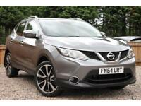 NISSAN QASHQAI 1.5 dCi Tekna 2WD 5 Door SUV Grey Manual Diesel, 2014