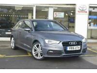 2016 Audi A3 1.4 T FSI S-Line (150PS) Petrol grey Manual for sale  Silsden, West Yorkshire