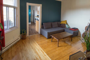 Fully furnished apartment for rent - Metro Laurier / plateau