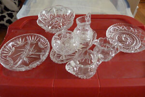 Crystal Table Ware for Sale