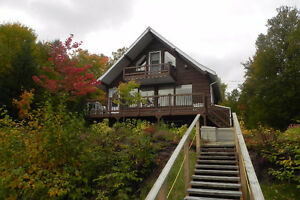 Quebec Cottage 4 seasons for sale on lake, in mountains Gatineau Ottawa / Gatineau Area image 2