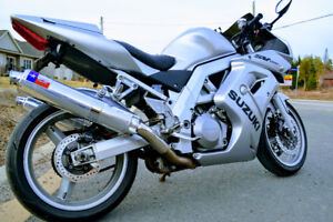 Sport Touring Bike - SV1000S with lots of upgrades