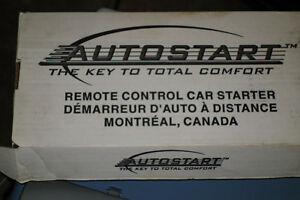Electronic Remote Car starter - includes car starter remote.