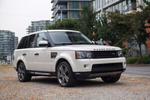 2010 Land Rover Range Rover Sport Supercharged SUV, Crossover