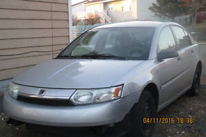 2003 SATURN ION.... FOR PARTS ONLY