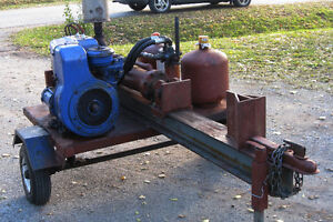 Heavy duty Wood Splitter with tow hitch