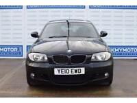 2010 10 BMW 1 SERIES 2.0 118D M SPORT 5D AUTO 141 BHP DIESEL