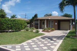Maison à louer à Pompano Beach (Floride) près de la mer