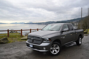 2013 Dodge Power Ram 1500 Sport Pickup Truck Quad Cab