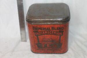 Various Vintage Antique tins