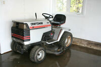 Craftsman lawn tractor (engine needs service)