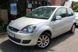2007 Ford Fiesta 1.4 SILVER LIMITED FSH Long MOT Low Mileage Finance Available