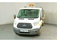 2016 Ford Transit 2.2 TDCi 125ps Double Cab Tipper Tipper Diesel Manual