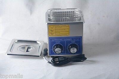 2l 80w Dental Jewelry Stainless Ultrasonic Cleaner Heater Timer 80 110v 220v