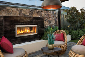 Outdoor gas fireplace SALE