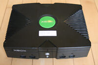 Modded Xbox Original.  Perfect for XBMC Emulators CoinOPS