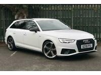 2019 Audi A4 Avant Black Edition 40 TFSI 190 PS S tronic Semi Auto Estate Petro
