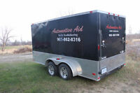 Enclosed Utility Trailer 7 by 14