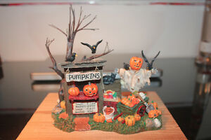 Department 56 – Village d'Halloween – Pumpkin Stand.