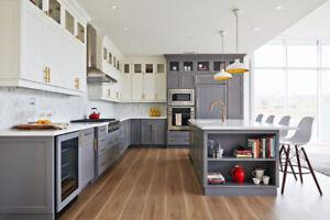 Solid Maple Cabinet 50% OFF,&Granite/Quartz Countertops From $45