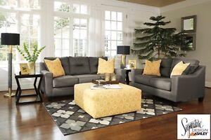 Brand NEW Forsan Grey Sofa ! Call 807-346-4044