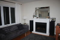 Beautiful large furnished 1 bedroom apartment -