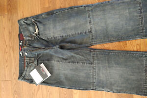 Brand new Sartso Brown Wave (relax fit) Kevlar jeans (men's 30)